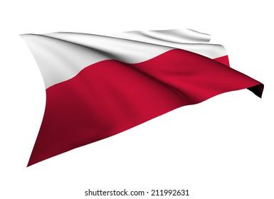 Poland flag - collection no_5