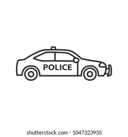Police Car Line Drawing Images Stock Photos Vectors Shutterstock