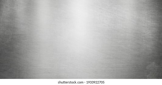 polished metal background or texture stainless steel surface