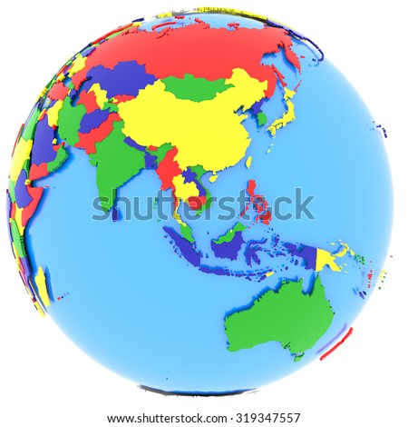Southeast Asia Map Political.Royalty Free Stock Illustration Of Political Map Southeast Asia