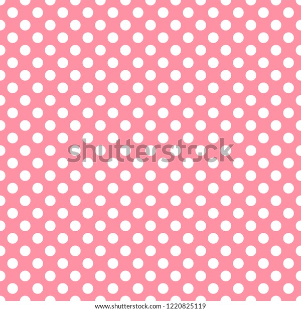 graphic about Printable Pattern Paper known as Polka Dot Salmon Red Electronic Paper Inventory Case in point