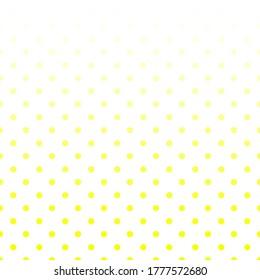 Polka-Dots-Muster und Dots-Hintergrund-Design.