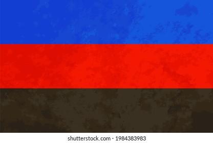 Polyamorous sign, polyamorous pride flag with texture