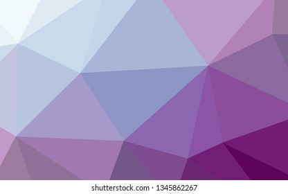 Polygon Background  Gradually changing color   Purple