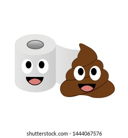Poop and toilet tissue lovers