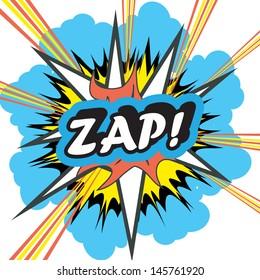 Pop Art explosion Zap