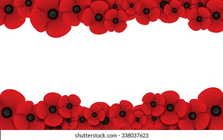 Remembrance day poppy images stock photos vectors shutterstock poppy flower remembrance day white background mightylinksfo