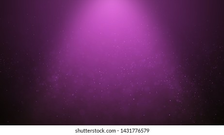 Popular Abstract background shining pink dust particles stars sparks wave 3d animation