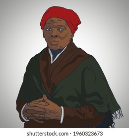 Portait Harriet Tubman Maryland, United Stated 1897