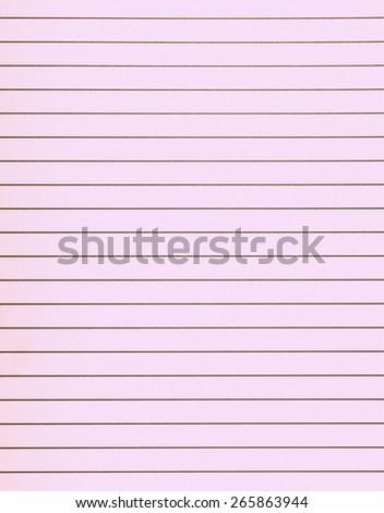 portrait a 4 format lines notebook paper stock illustration