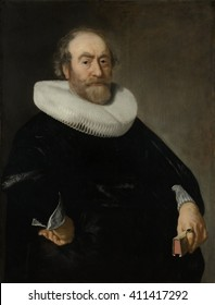 Portrait of Andries Bicker, by Bartholomeus van der Helst, c. 1642, Dutch painting, oil on panel. At the time of this painting, the Bickers were the most powerful family in Amsterdam. Andries was a m