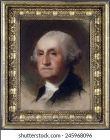 Portrait of George Washington 1732-1899 by Thomas Sully. 1820.