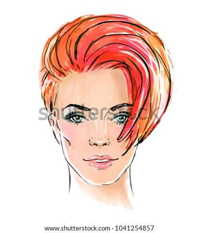 Art of being a redhead