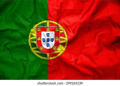 Portugal flag. illustration