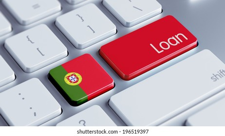 Portugal High Resolution Loan Concept