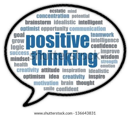 positive thinking speech