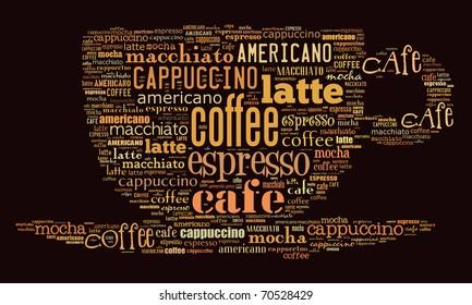 Afiche para decorar una cafetería o una cafetería