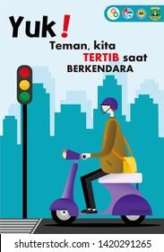 Poster illustrasi modern & unik