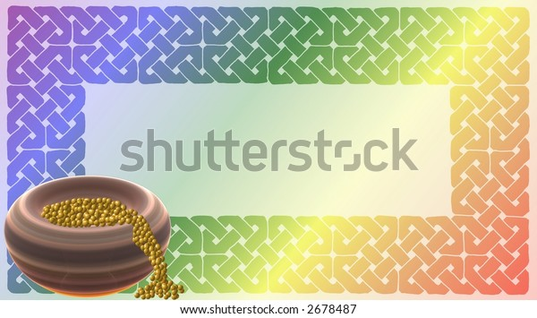 Pot of Gold / Celtic Rainbow