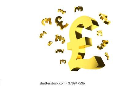 Pound Symbols Background