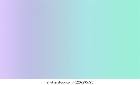 Powder Blue, Melrose Violet, Magic Mint Green color. A modern gradient texture background with space for text, degrading fragments and a smooth shape of transition and changing colors.