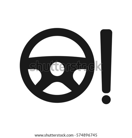 Power Steering System Icon Stock Illustration 574896745 Shutterstock