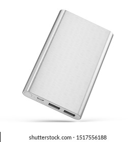Powerbank isolated on white background - 3d rendering