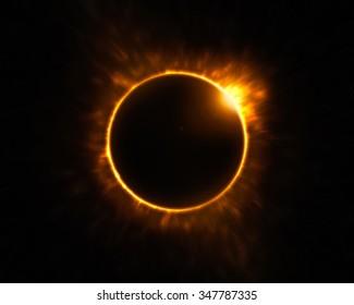 Powerful Solar Eclipse