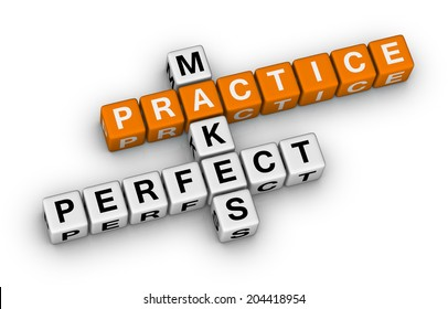Practice Makes Perfect Images, Stock Photos & Vectors