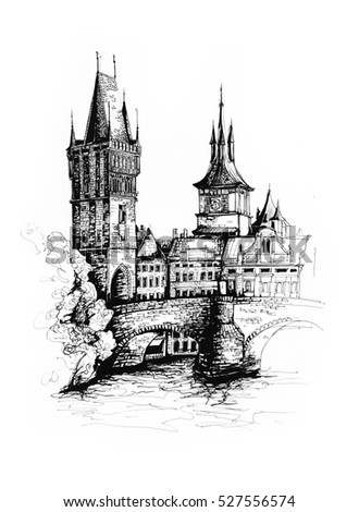 Royalty Free Stock Illustration Of Prague City Czech Republic