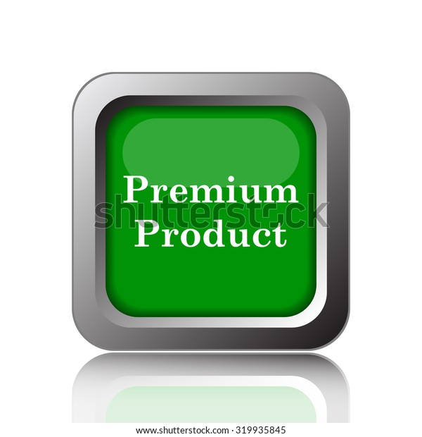 Premium product icon. Internet button on white background.