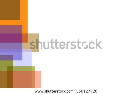 presentation backgroundsorangegreenviolet stock illustration
