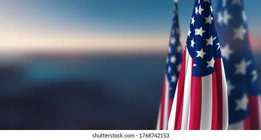 Presidential Election 2020 USA Background