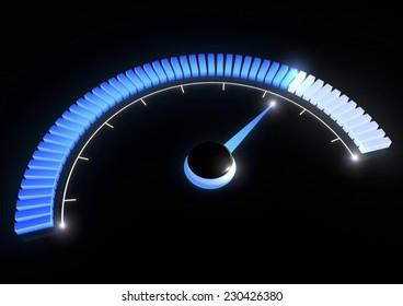 Pressure gauge temperature speed performance