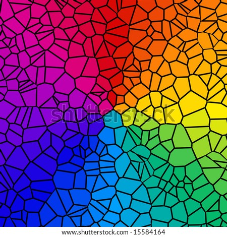 pretty background rainbow colored tiles stock illustration 15584164