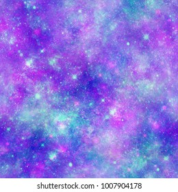 Pretty Galaxy Universe Print