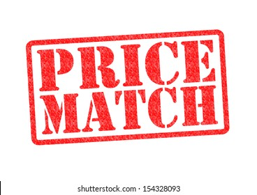 PRICE MATCH Rubber Stamp over a white background.