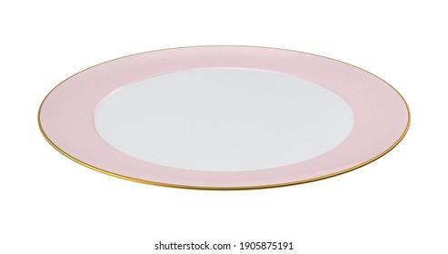 Princess Tea Plate 3D illustration on white background