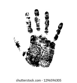 Print of hand