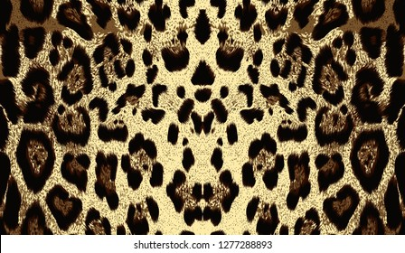 printable Abstract raster tiger texture background for textile and digital print design.