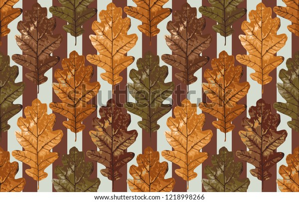 picture regarding Acorn Pattern Printable known as Printable Seamless Traditional Autumn Repeat Habit Inventory