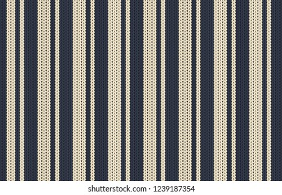 Printable seamless vintage Christmas knit repeat pattern background in navy blue color. Wallpaper, raster illustration in super High resolution. Pattern for pront on demand texture.