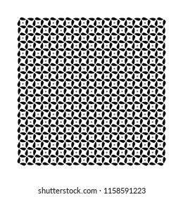 Printing block for scarf design. Simple geometric ornament. Textile fashion accessories. Silk fabric shawl, neckerchief, handkerchief, neckwear, kerchief. Black and white template. Set Bandana Pattern