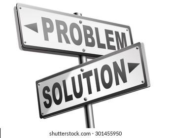 Problemlösungssuche durch Lösung von Problemen Straßenzeichen