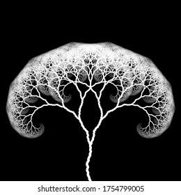 Procedurally Generated Binary trees with aesthetic scaling proportions