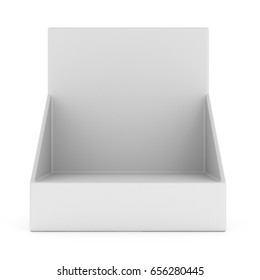 Product display. 3d illustration isolated on white background