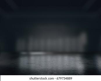 Product showcase spotlight background,.3D rendering