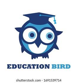 Professional Bird Education Logo Design