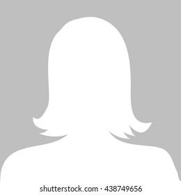 Profile picture illustration - woman