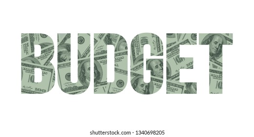Profit Word Concept and Hundred Dollar Bills